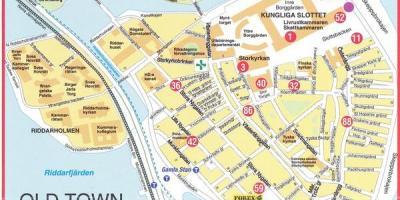 Stockholm Kort Kort Stockholm Sodermanland Og Gotland Sverige